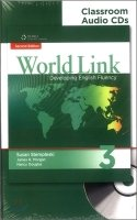 WORLD LINK Second Edition 3 CLASSROOM AUDIO CD