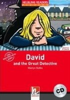 HELBLING READERS FICTION LEVEL 1 RED LINE - DAVID AND THE GREAT DETECTIVE + AUDIO CD PACK