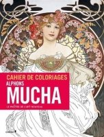 Carnet de coloriages: Mucha