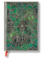 Paperblanks Silver Filigree Esmeralda Midi Unlined