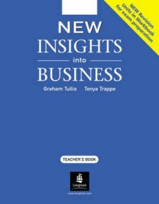 New Insights into Business - Teachers Book