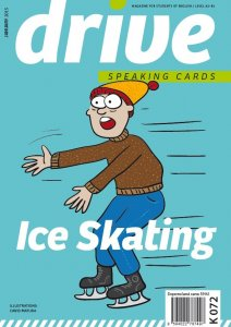 Drive – Speaking Cards – Ice Skating