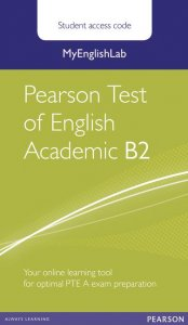 MyEnglishLab Pearson Test of English Academic B2 Standalone Student Access Card