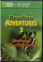 READING ADVENTURES 3 AUDIO CD/DVD