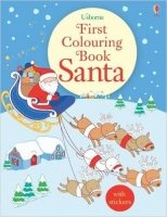 First Colouring Book Santa