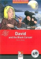 HELBLING READERS FICTION LEVEL 3 RED LINE - DAVID AND THE BLACK CORSAIR + AUDIO CD PACK