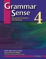 GRAMMAR SENSE 4 ADVANCED GRAMMAR AND WRITING STUDENT´S BOOK
