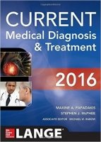 CURRENT Medical Diagnosis and Treatment 2016, 55th Ed.