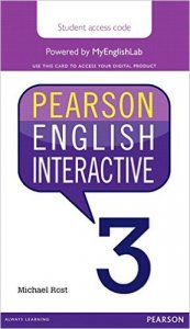 Pearson English Interactive 3 Student Online Version Am English (Access Card)