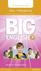 Big English 3 Pupil's eText and MEL Access Code