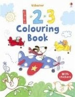 123 Colouring Book with Stcikers