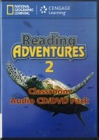 READING ADVENTURES 2 AUDIO CD/DVD
