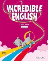 INCREDIBLE ENGLISH STARTER CLASS BOOK