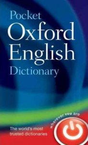 POCKET OXFORD ENGLISH DICTIONARY 10th Edition