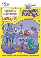 Addition and Subtraction Age 6-7 (Letts Monster Practice)