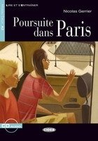 POURSUITE DANS PARIS + CD (Black Cat Readers FRA Level 2)