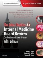 The Johns Hopkins Internal Medicine Board Review, 5th Ed.