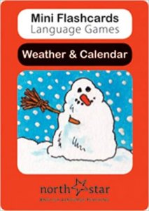 MINI FLASHCARDS LANGUAGE GAMES: CARDS Weather & Calendar