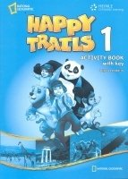 HAPPY TRAILS 1 ACTIVITY BOOK WITH ANSWER KEY