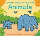 Touchy Feely Baby Jigsaw Animals