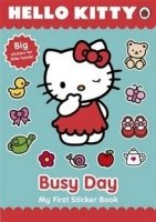 Hello Kitty's Busy Day: My First Sticker Book