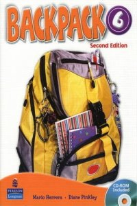 Backpack, 2nd Ed. 6 Workbook w/ Audio CD - 2nd Revised edition