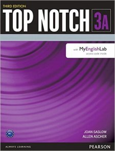 Top Notch Third Edition 3 Student Book Split A with MyEnglishLab