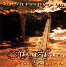 Relax with instrumental hits - Harp/Harfa - CD