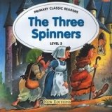 PRIMARY CLASSIC READERS Level 3: THREE SPINNERS Book + Audio CD Pack