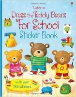 Dress the Teddy Bears for School (Sticker Book)