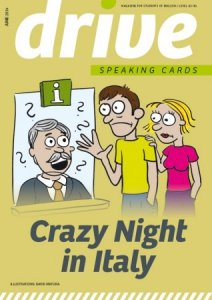 Drive - Speaking Cards - Crazy Night in Italy