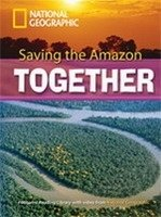 FOOTPRINT READERS LIBRARY Level 2600 - SAVING THE AMAZON TOGETHER + MultiDVD Pack