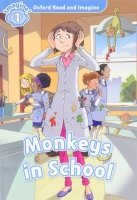 Oxford Read and Imagine Level 1: Monkeys in School with Audio CD Pack