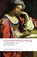 EARLY MODERN WOMEN´S WRITING (Oxford World´s Classics New Edition)
