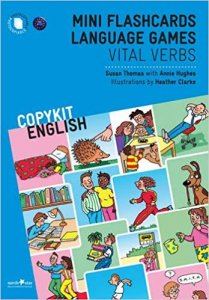COPYKIT ENGLISH: Mini Flashcards Language Games Vital Verbs TEACHER´S BOOK