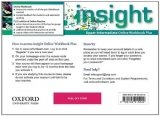 Insight Upper Intermediate Online Workbook & Online Practice (Access Code Card)