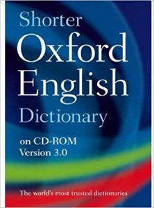 SHORTER OXFORD ENGLISH DICTIONARY 6th Edition on CD-ROM
