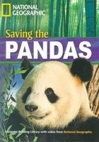 FOOTPRINT READERS LIBRARY Level 1600 - SAVING THE PANDAS + MultiDVD Pack