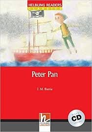 HELBLING READERS CLASSICS LEVEL 1 RED LINE - PETER PAN + AUDIO CD PACK
