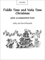 FIDDLE TIME and VIOLA TIME: CHRISTMAS PIANO ACCOMPANIMENT BOOK