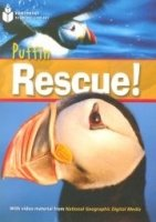 FOOTPRINT READERS LIBRARY Level 1000 - PUFFIN RESCUE! + MultiDVD Pack