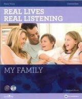 REAL LIVES, REAL LISTENING INTERMEDIATE: MY FAMILY + AUDIO CD PACK