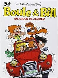 BD, Boule et Bill: Un Amour de Cocker (Tome 34)