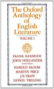 THE OXFORD ANTHOLOGY OF ENGLISH LITERATURE Vol. 1