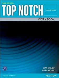 Top Notch Third Edition Fundamentals Workbook