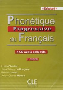Phonétique progressive du francais Débutant CD audio (4) 2. édition
