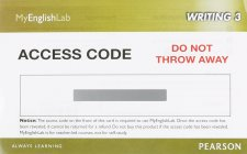 MyEnglishLab Writing 3 (Student Access Code)