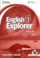 ENGLISH EXPLORER 1 TEACHER´S BOOK + CLASS AUDIO CD PACK