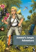 Dominoes Second Edition Level 2 - Jemma's Jungle Adventure + MultiRom Pack