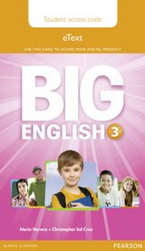 Big English 3 Pupil's eText Access Code